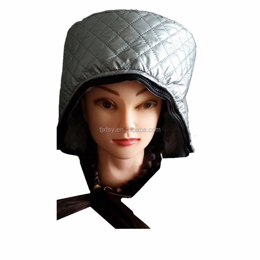 Équipement de salon de coiffure perm machine cheveux spa vapeur vapeur  chapeau ABS matériel micro,