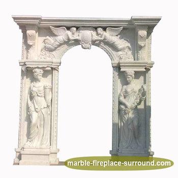 New Decorateangel Arched Door Frame Design For Home Door Surround ...