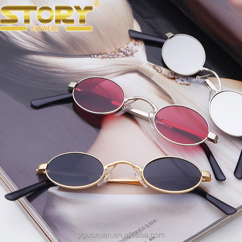 24597773aa17 STORY STY1505KN custom novelty sunglasses colorful women trendy small oval  sunglasses