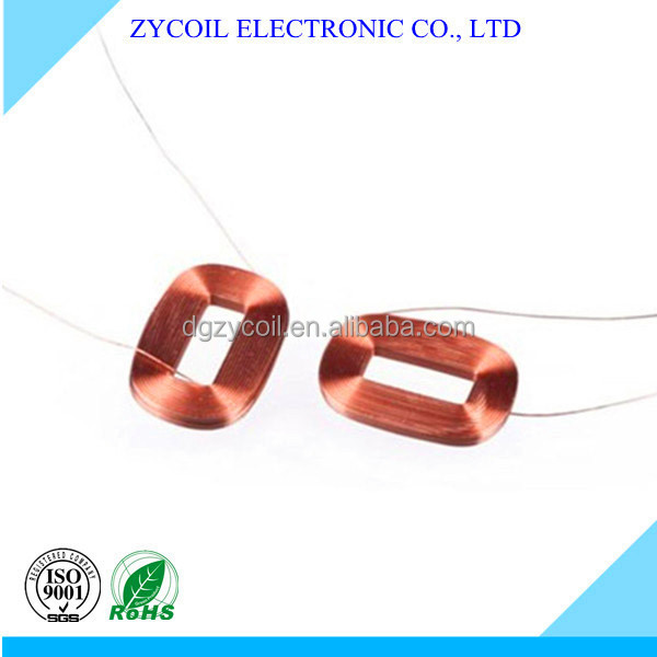 high precision all kinds of induction coil/ electro miniature coil ZYcoil
