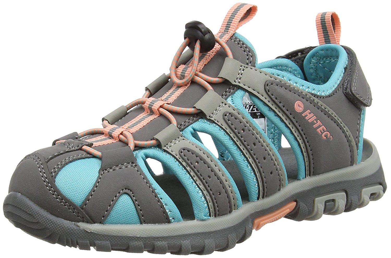 e5a4081494b7 Get Quotations · Hi-Tec Cove Junior Girls  Walking Sandals