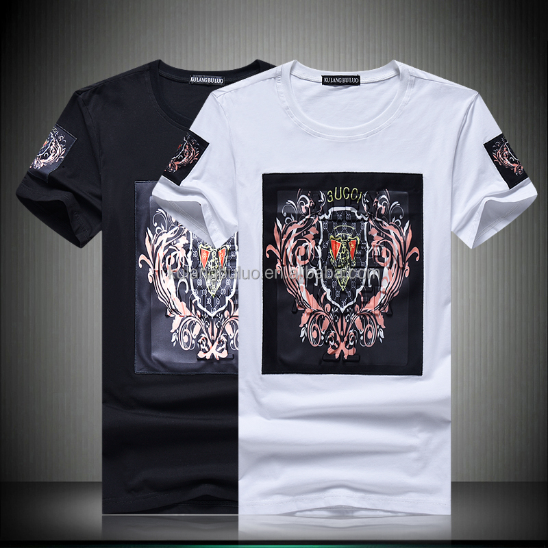 China Factory Hot Sale Slim Fit Orignal Design Fashion Style T-shirt T012
