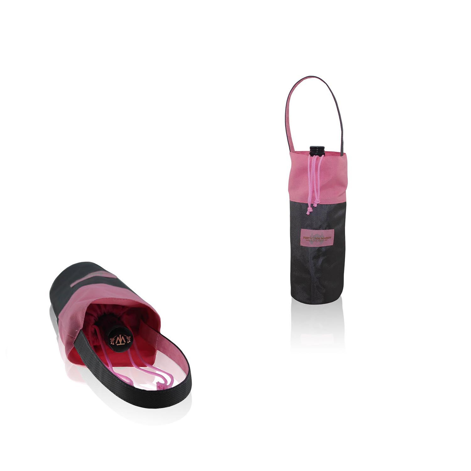 Eco-friendly durable wine pouch nylon wine bag with handle