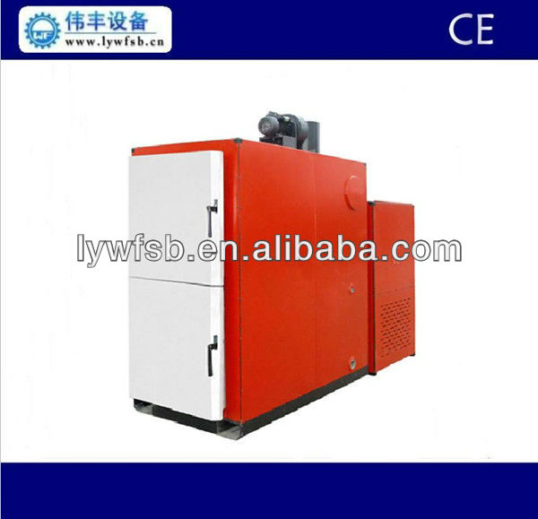 wood pellets fired hot water boiler for home, hotel, restaurant