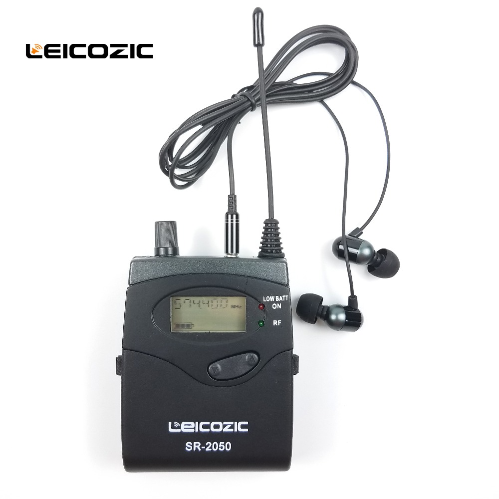 Leicozic 12 Receivers 1 Transmitter SR2050 IEM in ear wireless monitor system UHF Professional Stage Wireless Monitor system new