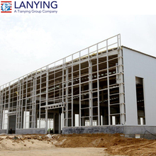 Prefab light steel frame workshop/steel structure building