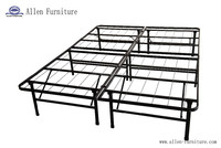 Metal Platform Bed Frame and Mattress Foundation Queen