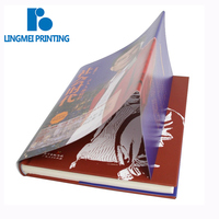 China manufacturer custom coloring hardcover cheap bulk recycled paper full color paperback book printing