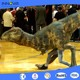 Innova-factory sale outdoor t-rex mechanical realistic walking dinosaur