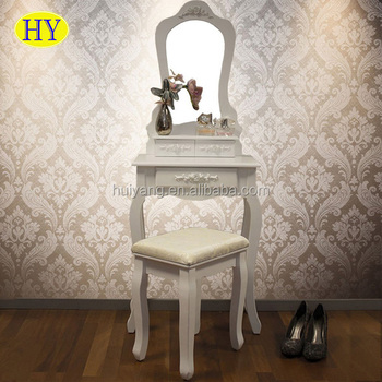 Custom Cheap Small Bedroom Wooden Mini Malist Dressing Table Set With  Mirror And Stool - Buy Dressing Table And Mirror Set,Dressing Table Dresser  ...