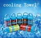 custom Gym Summer cooling down Artifact microfiber sport Towel and bottle