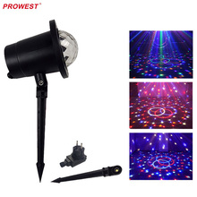 IP65 5W star or water simulation effect festival projector light garden decorative light spike stage lights