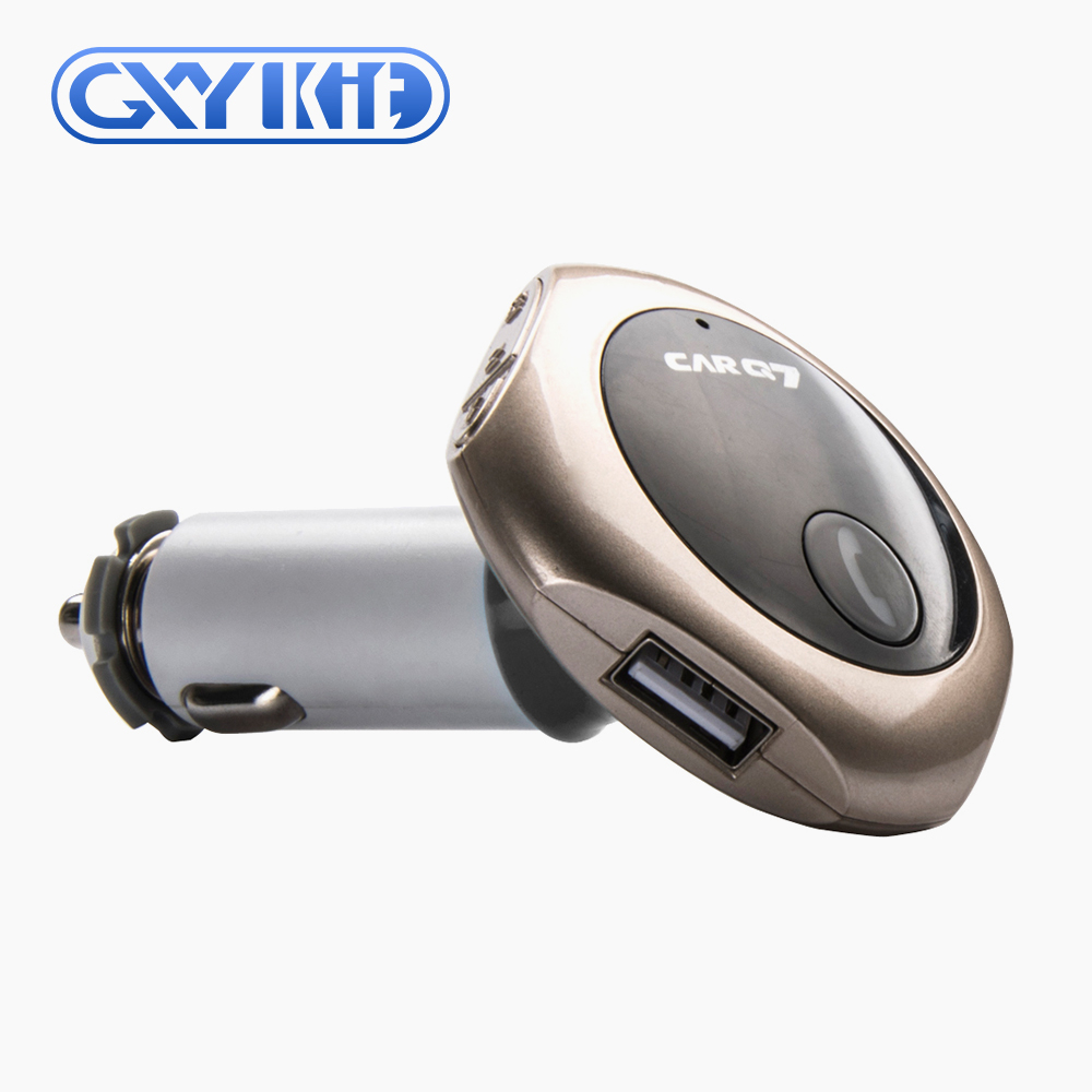 GXYKIT GPS navigation broadcast handsfree car radio fm transmitter mp3 car player