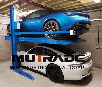 2 Post Hydraulic Parking Lift Home Garage Car Stacker Buy Car