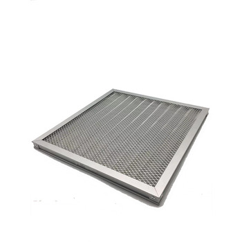 Durable design fashion washable material industrial metal air filters