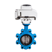 4 inch bare shaft electric actuator butterfly valve price list