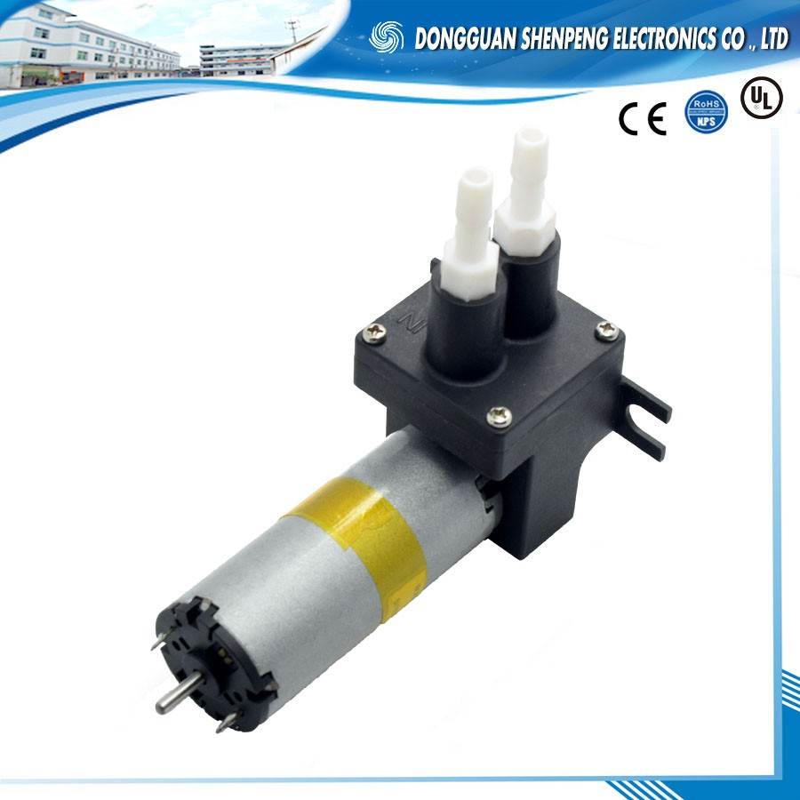 High pressure 12v 24v mini water self-priming pump with CE certification