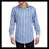best selling china wholesale new style striped custom mechanic shirts for men