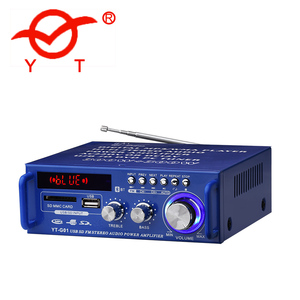 High quality standard bluetooth amplifier with remote control