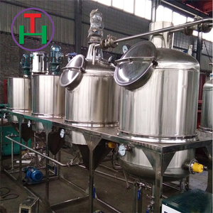 Full Production Line Crude Red Palm Oil Refining Machine/Palm Oil Refinery Plant