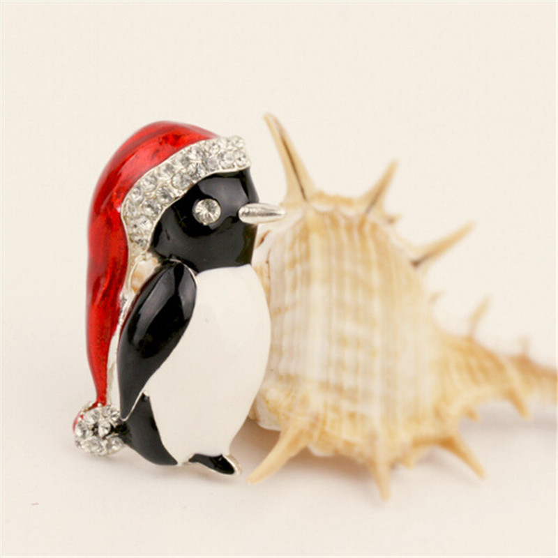 design christmas bundlesoffer hat cute superlarge penguin products brooch