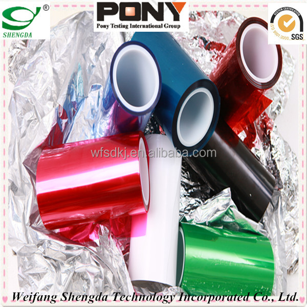 Silicone Coated Pet Released Film manufacturer--SGS/PONY