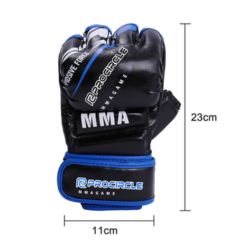 High Quality Cowhide Leather  MMA Punching Boxing Gloves 12oz