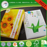 office supplies letter size copy paper for Laser Printers Fax Machines