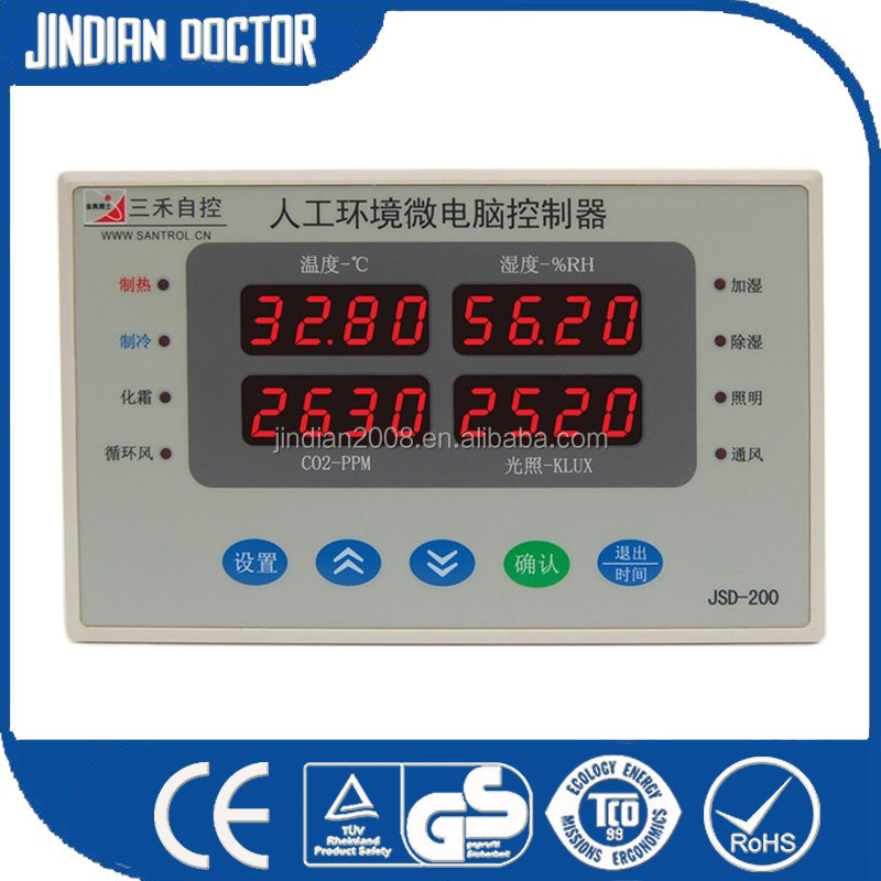 Hot selling digital <strong>temperature</strong> and humidity meter <strong>temperature</strong> controller and for wholesales JSD-200