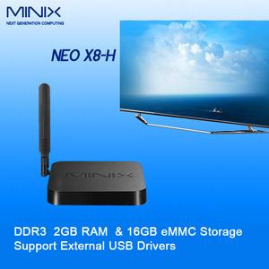 Amlogic S802-H MINIX NEO X8-H Android KitKat 4 4 Quad Core TV BOX 2G/16G BT  4 0 MINIX NEO X8H+M1 Air Mouse