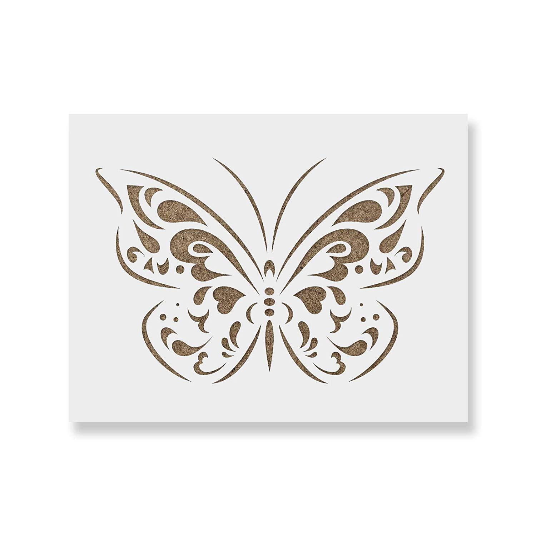 Viva Decor Butterfly Universal Stencil 11.69 x 16.54