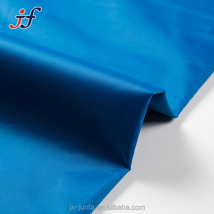 100% Polyester Dying PVC Coated Waterproof 210T Taffeta Fabric for Rain Coat/Tent