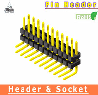 High Quality 2mm connector 1 / 2 / 3 / 4 row pin header