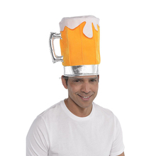 Beer Pint Pot Glass Hat Oktoberfest Cap Party Costume Accessory New