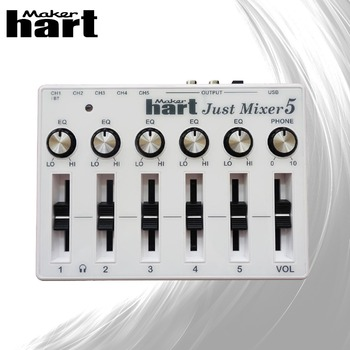 New type easy to carry 120v small digital audio mixer
