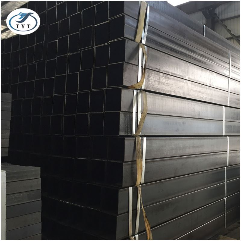 Rich Experience Made In China Mild Steel Of Black Square Pipe