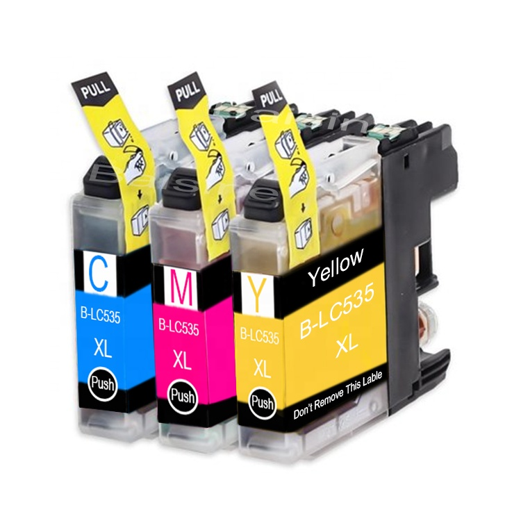 China Wholesale Refillable Ink Cartridge LC535 LC525 LC133 LC539 Inkjet Cartridge LC3219 LC3019 LC3719 Empty Ink Cartridge