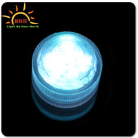 Flashing Submersible Tea LED Light for Swimming Pool with OEM service for holiday wedding party