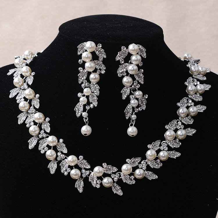 Imitation jewelry sets bridal necklaces wedding accessories women gift