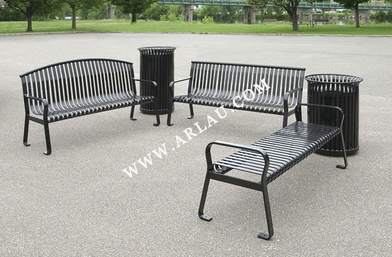 arlau garden furniture dubaitop quality wrought iron styling outdoor bench chairs cheap wholesale - Garden Furniture Dubai