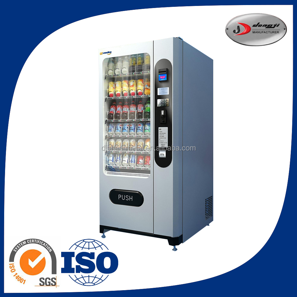 Europe style Custom automatic red bull vending machine for sale