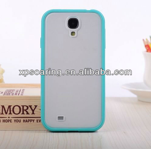 for Samsung Galaxy S4 I9500 colorful tpu+pc cover case