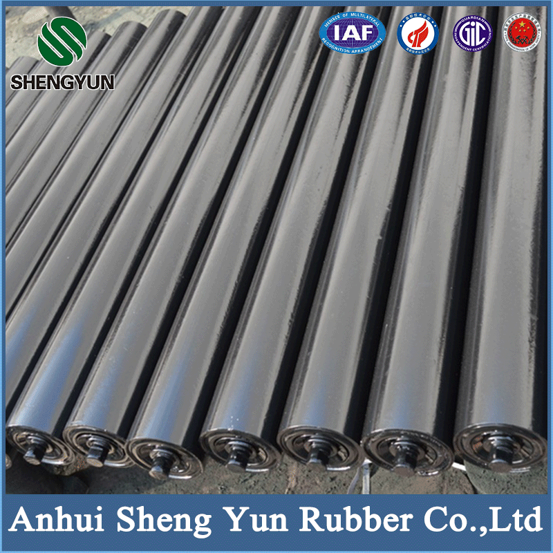 China low price teflon coated high precision belt conveyor roller with competitive price
