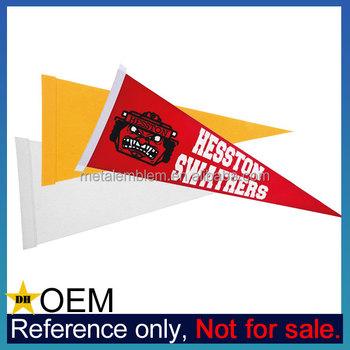 Wholesale cheap custom printing felt triangle blank felt for Triangle wholesale printing