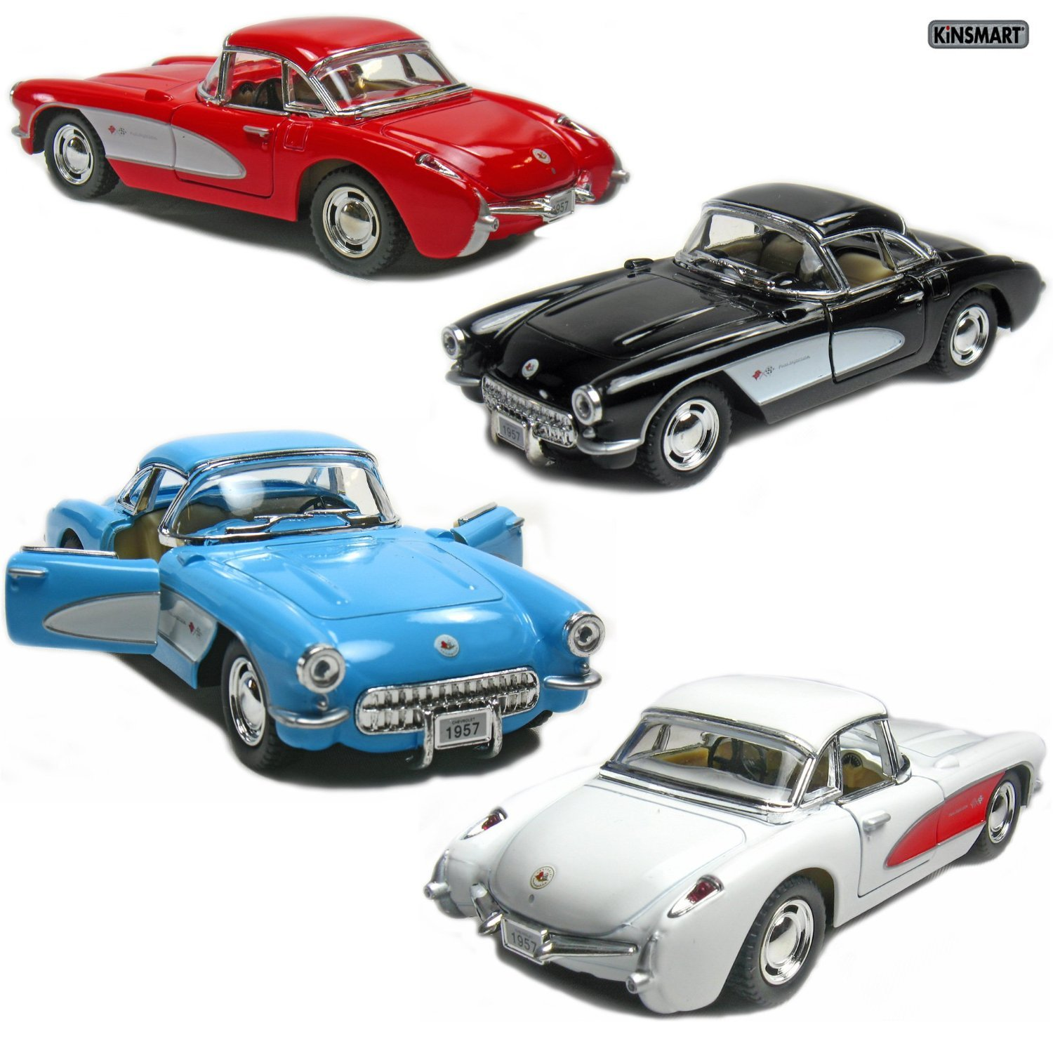Cheap 1957 Corvette Find Deals On Line At Alibabacom Chevrolet Sales Brochure Get Quotations Set Of 4 5 Chevy 134 Scale Black