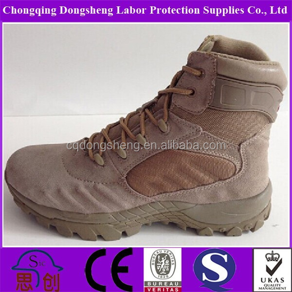 Water Insulation Metal Free Tactical Mexican Style Boots