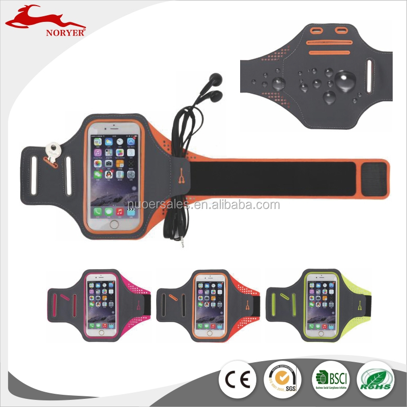 NRE16-243 Hot sales high quality waterproof running arm band for mobile phones factory price