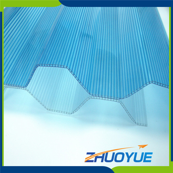 Heat resistant plastic cheap bulletproof polycarbonate corrugated sheet
