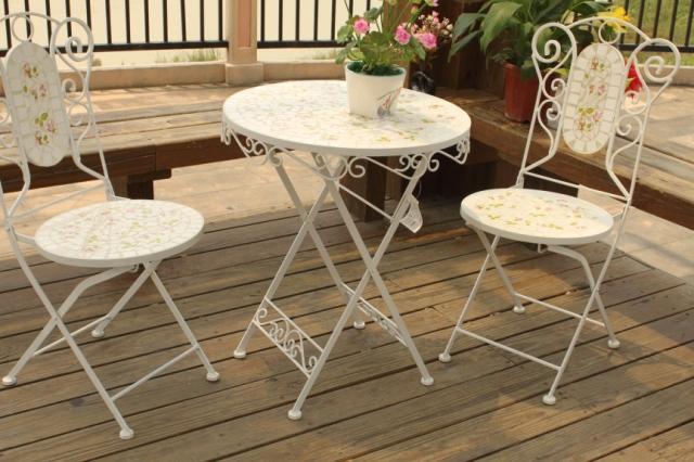 Mosaico mobili da giardino tavoli e sedie da giardino in - Tavoli ikea da giardino ...