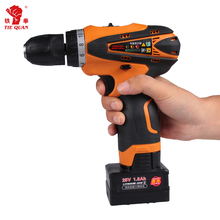 DC motor 25v li ion battery electric cordless hammering hand drill